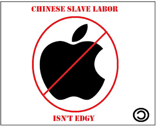 anti-apple logo parody copyleft