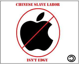 anti-apple logo parody copyleft