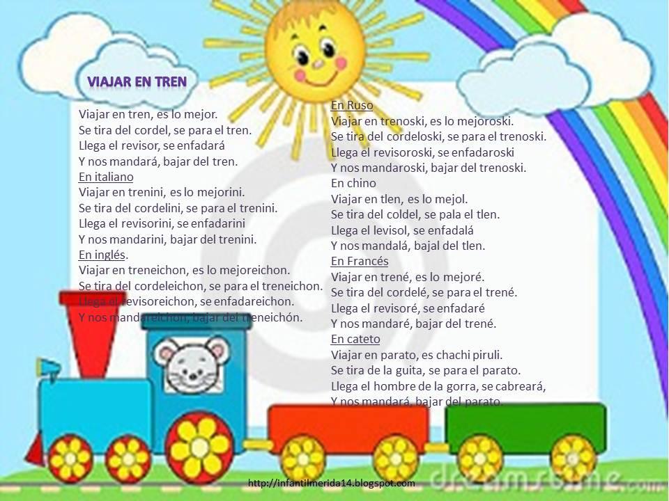 letra de la cancion el tren que nos: