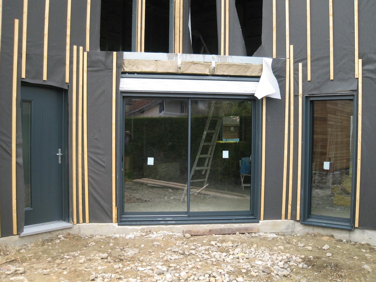 Construction maison ossature m tallique fen tres for Fenetre metallique