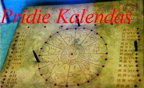 Almanaque Pridie Kalendas