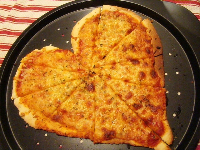 Heart-Shaped Pizza and The Meal Plan & Kristau0027s Kitchen: Heart-Shaped Pizza and The Meal Plan