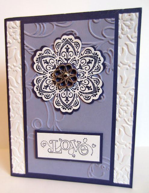 "alt=""Purple Passion Snowflake Card"""