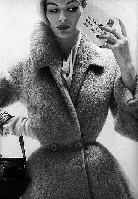 Vintage Winter Glam #vintage #winter #fashion #1950s #1960s