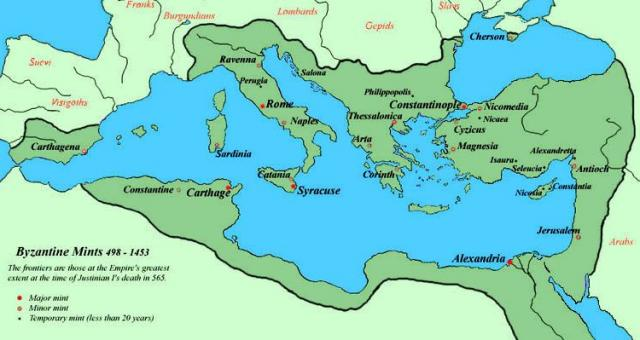 byzantine empire under justinian essay Dbq 5: byzantine empire under justinian historical context when justinian became emperor in 527, he was determined to revive the ancient roman empire.
