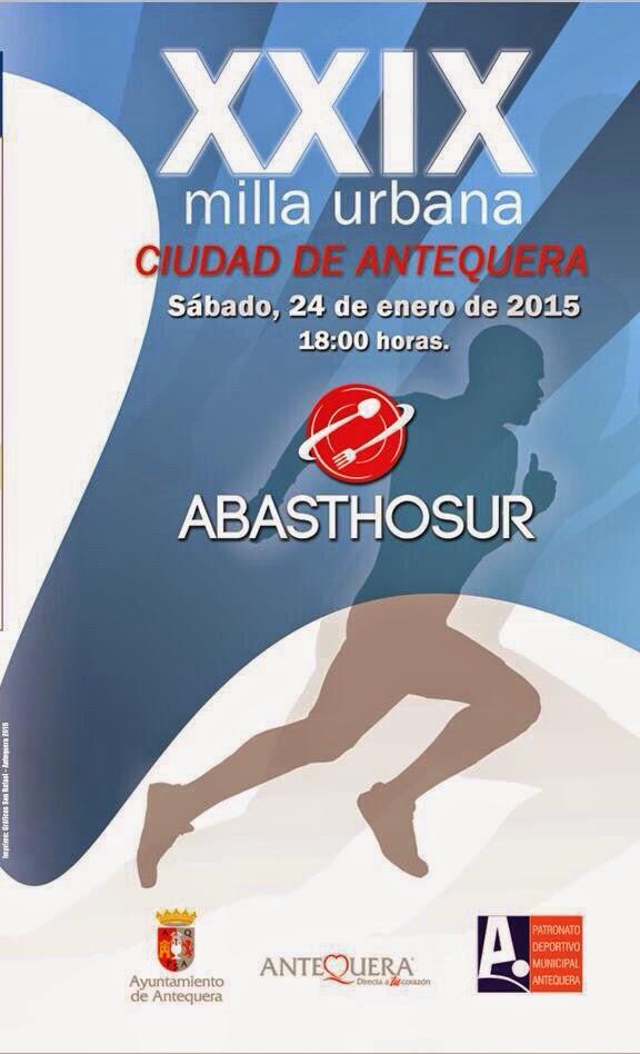 XXIX MILLA URBANA -ABASTHOSUR- CIUDAD DE ANTEQUERA