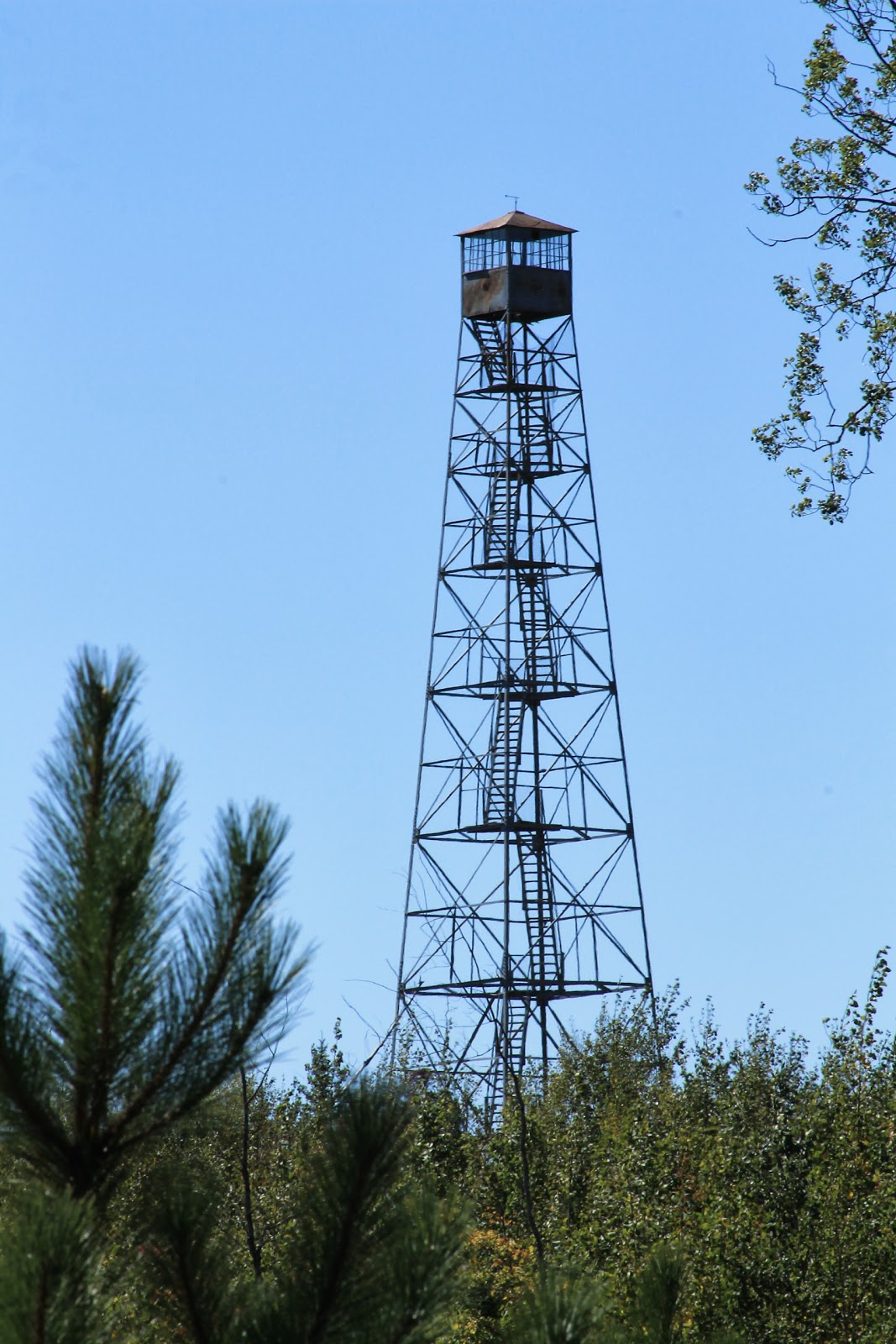 Minnesota 39 s historical fire lookout towers vermilion dam for Fire tower plans