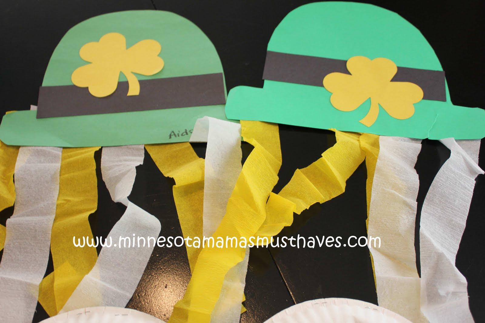 preschool crafts for kids st patrick u0027s day leprechaun hat
