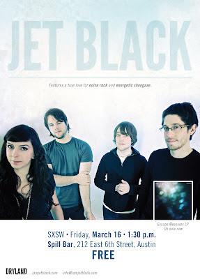 Jet Black @ SXSW 3/16/12!