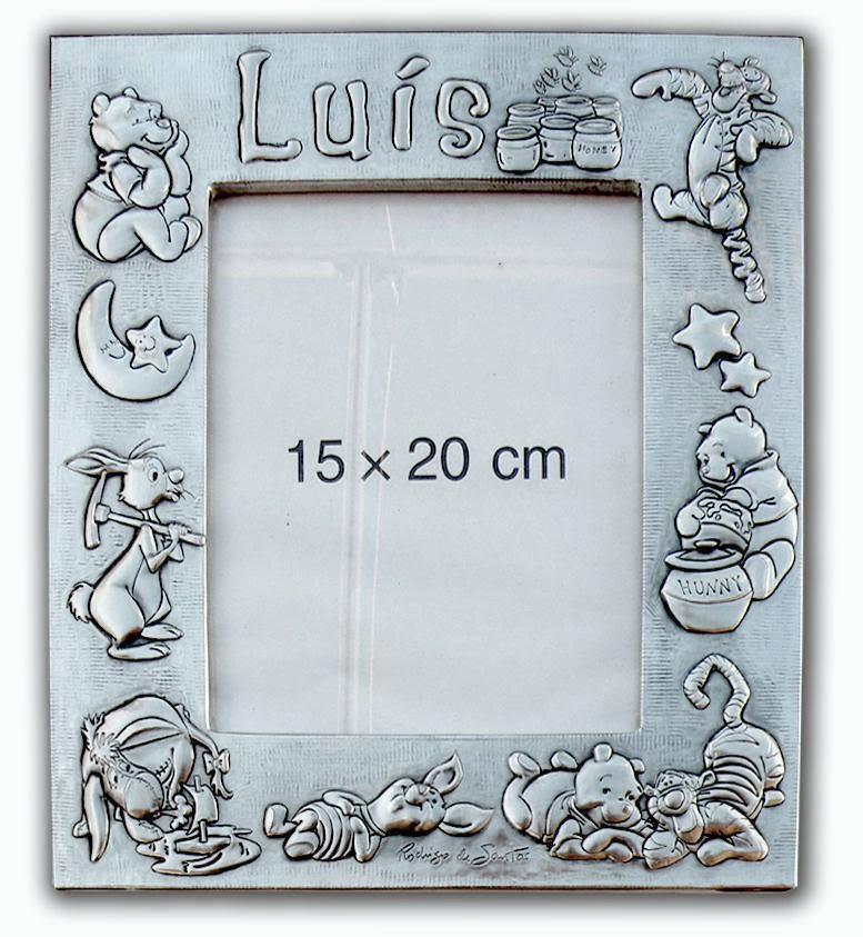 Marco infantil Winnie the Pooh. Luís.   ArteyMetal