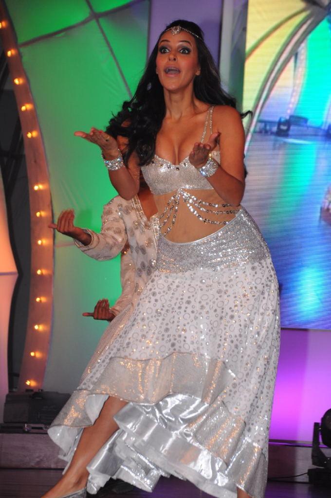 charming and stylish Neha duphia hot stage performance stills at tsr tv9 film awards