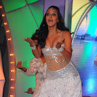 charming and stylish Neha duphia hot stage performance stills at tsr tv9 film awards