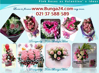 Bunga Valentine Mawar Pink Jakarta Tangerang