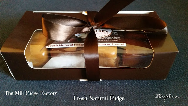 Fresh Natural Fudge from The Mill Fudge Factory