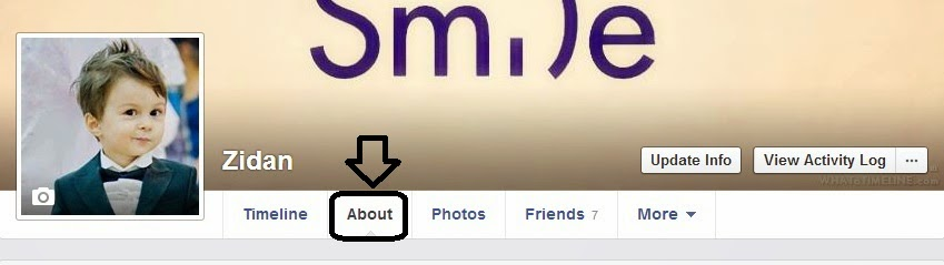 Change my date of birth on facebook