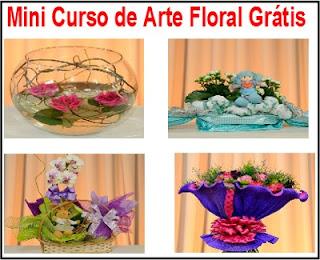Mini Curso de Arte Floral Grátis