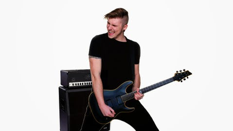 Alessandro Tuvo heavy metal rhythm guitar