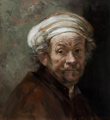 Rembrandt portrait Erik van Elven
