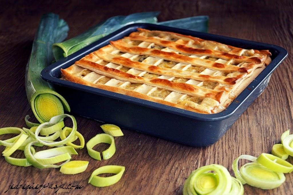 Ciasto z ziemniaków i porów