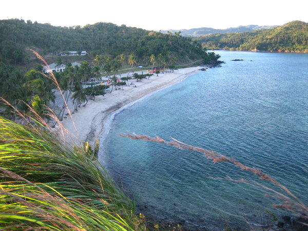 Aglicay Resort, Tablas Beach in Romblon