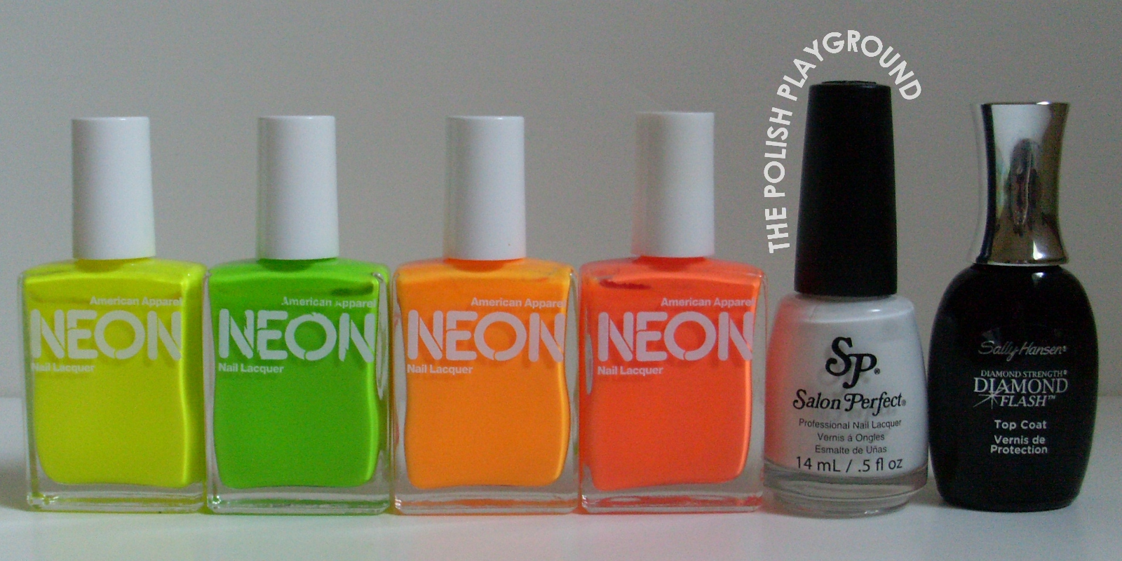 American Apparel, Salon Perfect, Sally Hansen