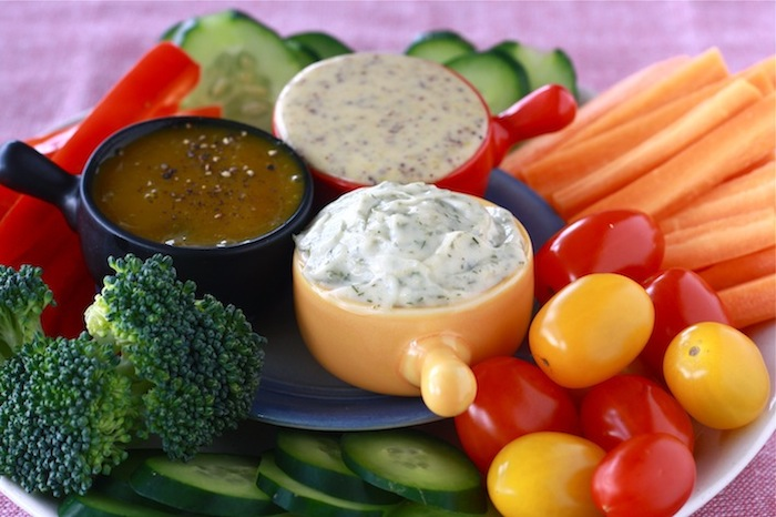 Simple Homemade Vegetable Dips recipes by SeasonWithSpice.com