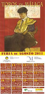 Málaga - Cartel taurino 2011