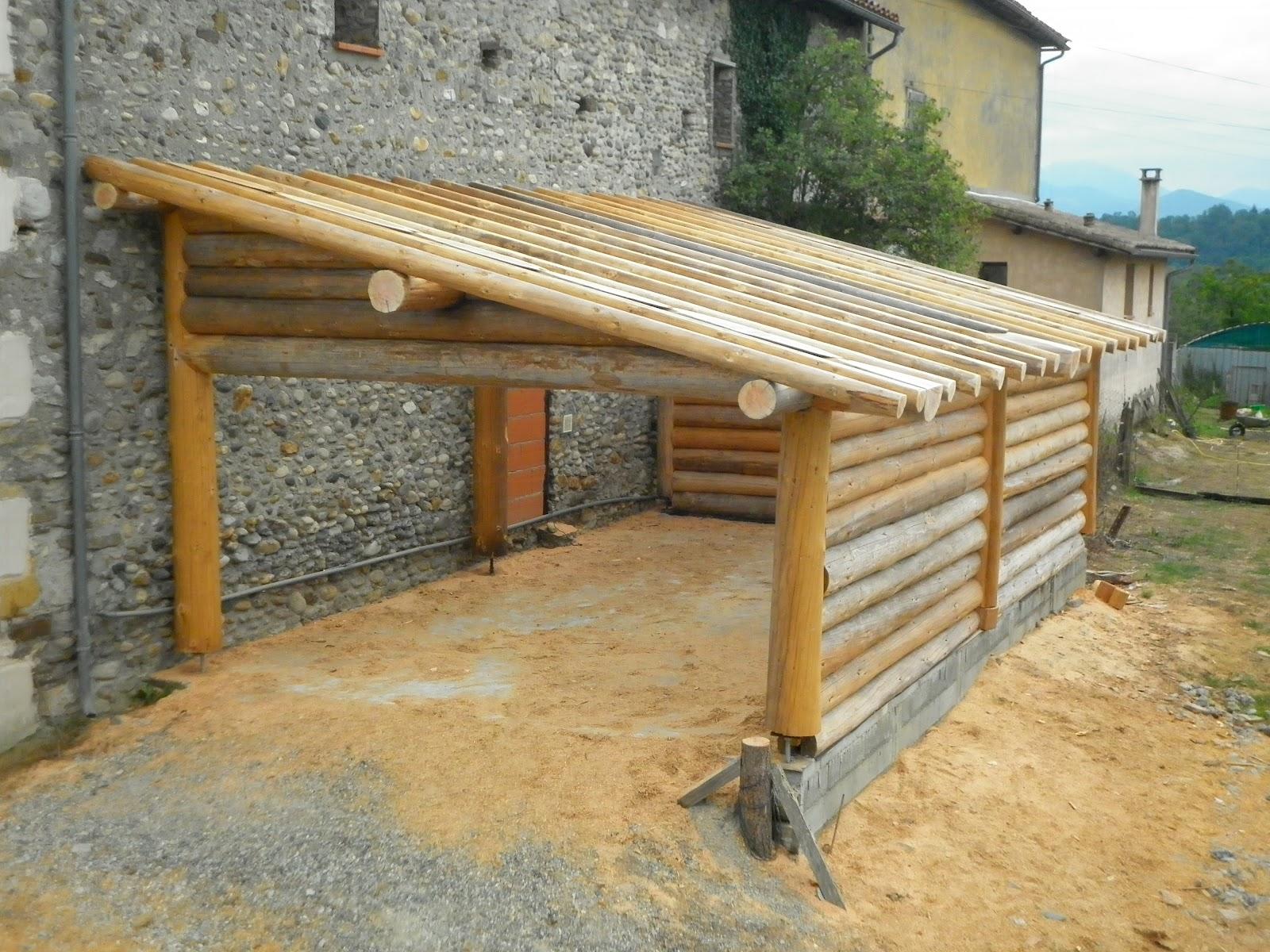 Rondins pyr n es constructions en fuste elagage abattage - Rondin de bois pour jardin ...