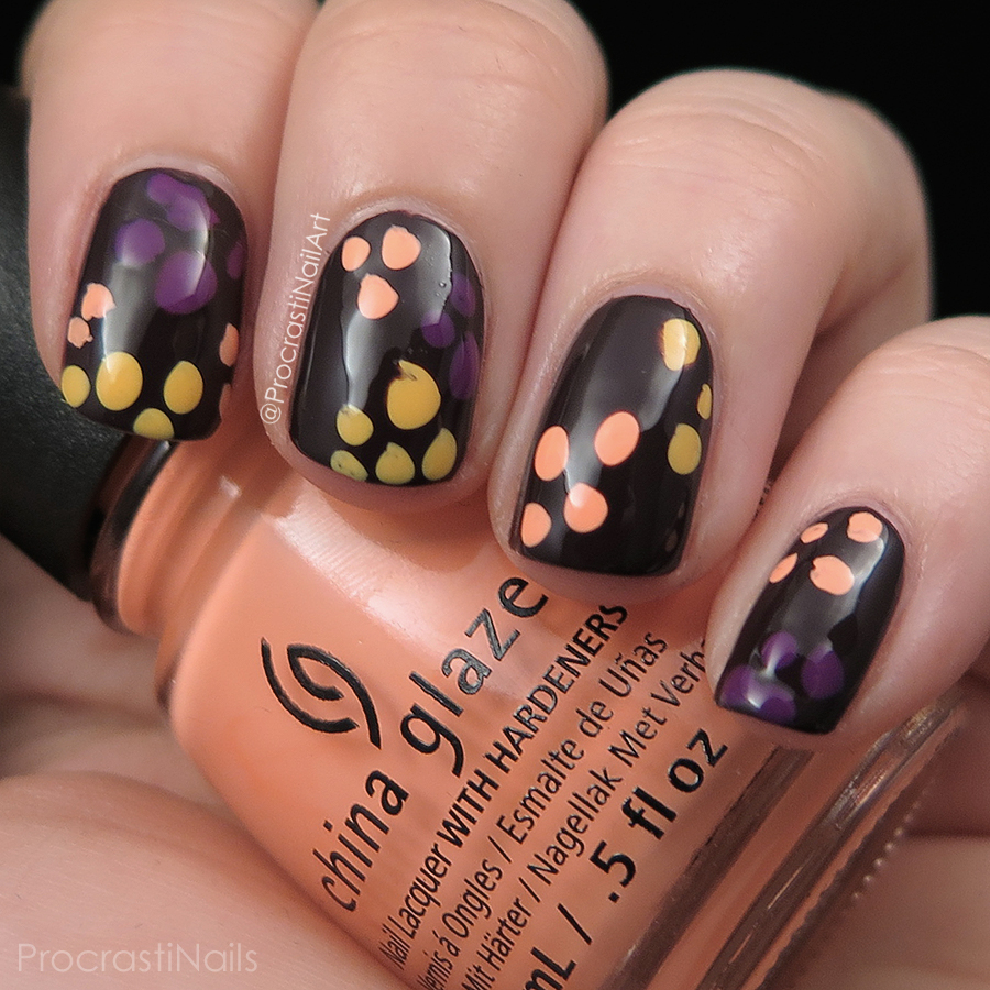 Blobicure nail art with What Are You A-Freight Of?, Givers Theme, Metro Pollen-Tin and Flip Flop Fantasy