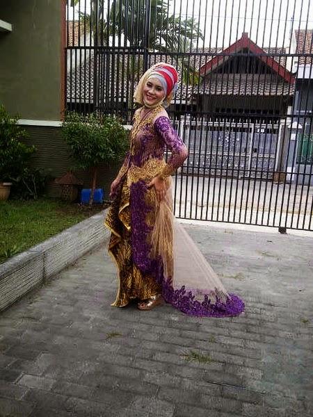 Model Kebaya Jilbab Untuk Kondangan