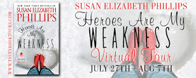 Heroes Are My Weakness by Susan Elizabeth Phillips Banner