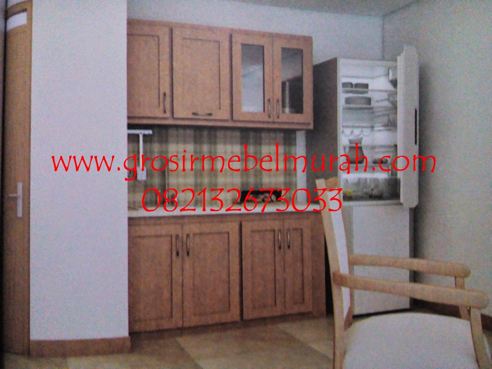 Kitchen set solo ciptakan desain kitchen set dan for Tukang kitchen set