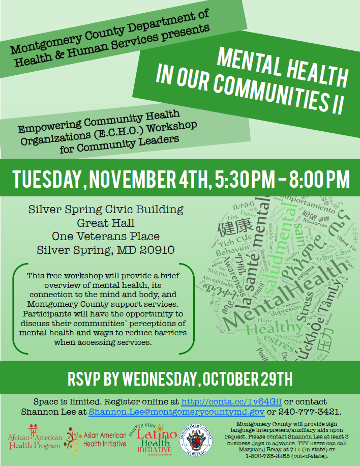 Asian American Health Initiative S Community Blog Save The Date For