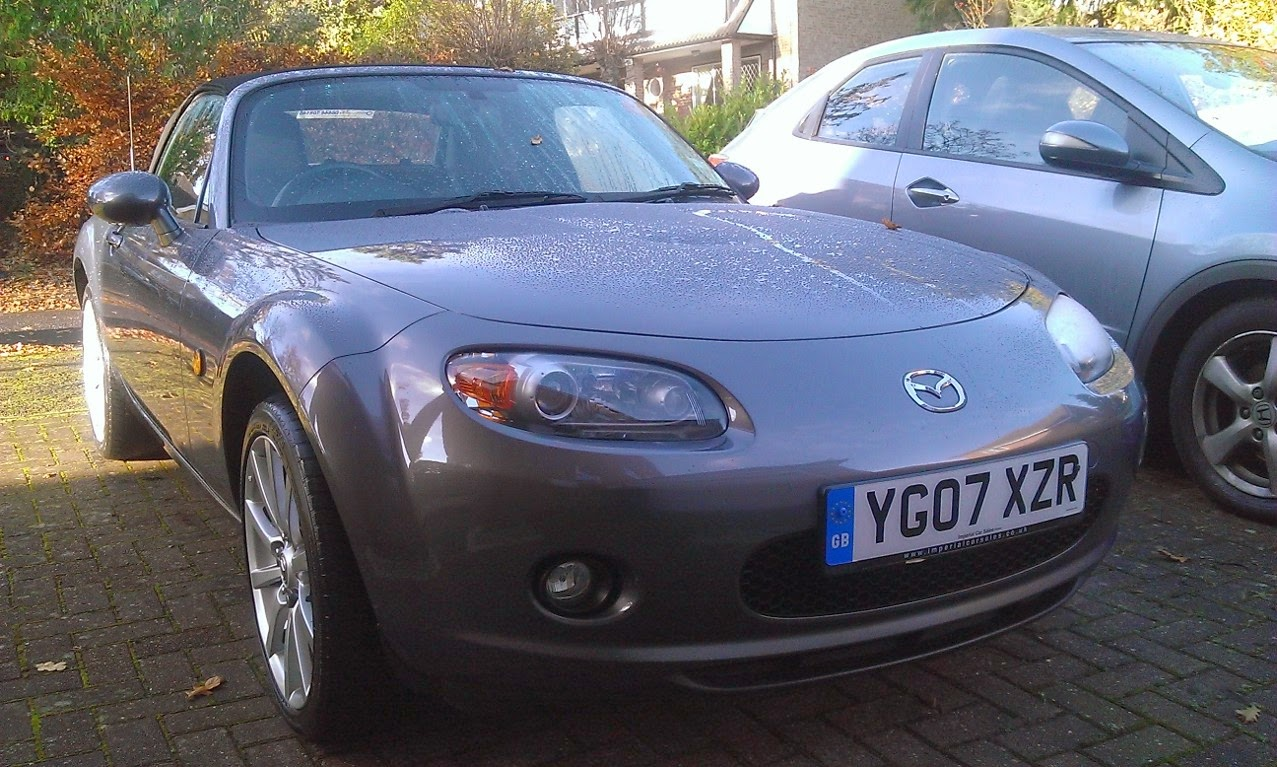 Graham's new Mazda MX5