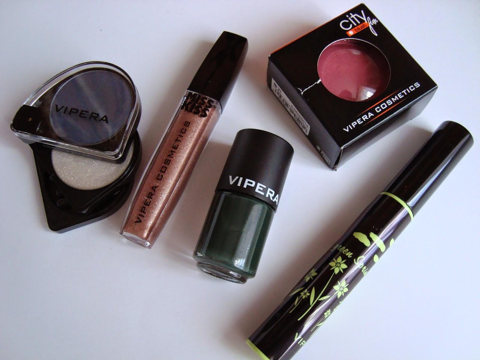 VIPERA COSMETICS - Moje nowości kosmetyczne