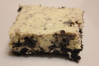 ... CAFE: Crazy Cooking Challenge: Oreo Cookies and Cream Cheesecake Bars