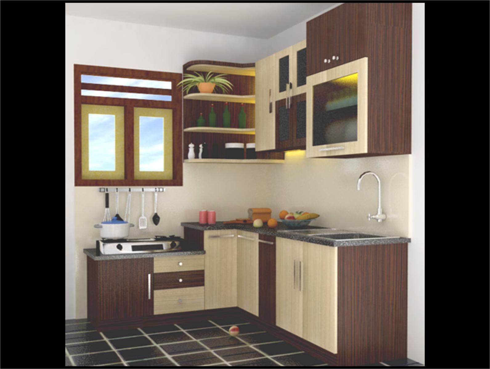 dapur minimalis ukuran 2x6