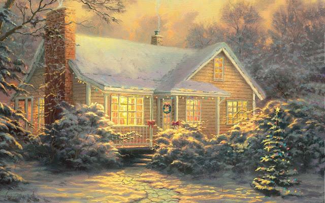 Hình nền tuyết giáng sinh