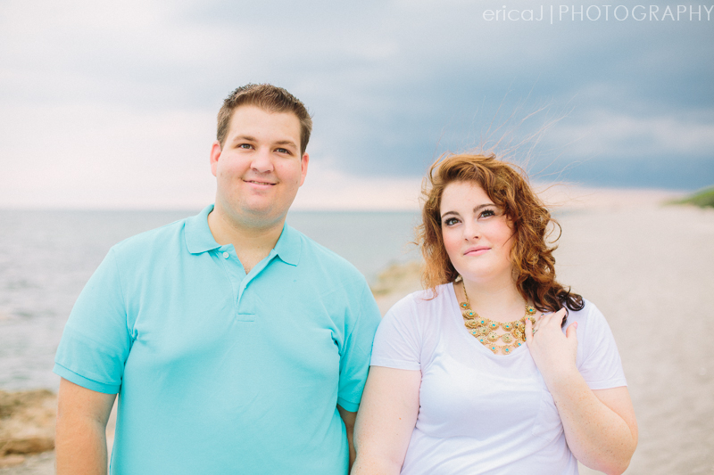 blowing rocks preserve engagement photo