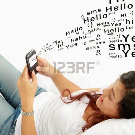 Mengirim Pesan, SMS