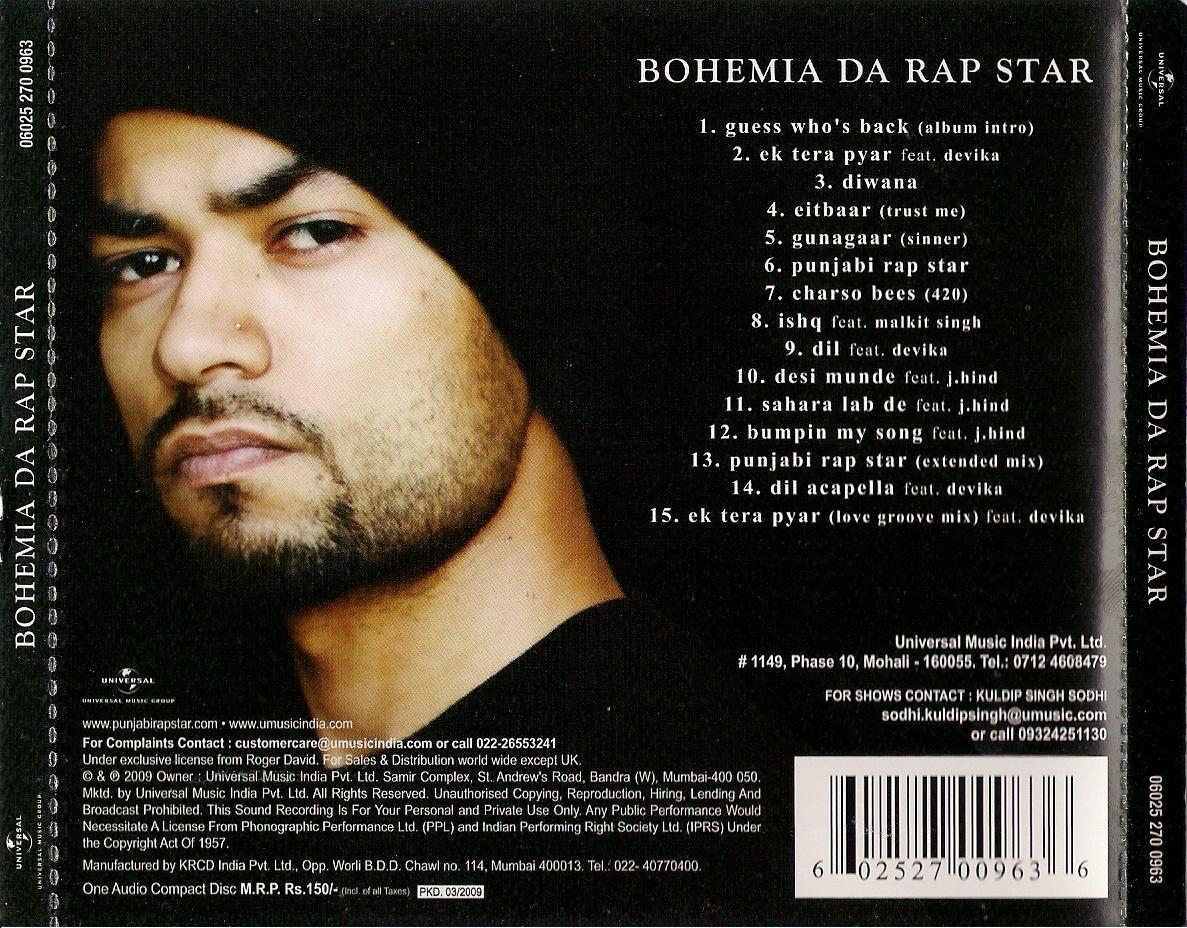 Bohemia - Da Rap Star - Full Album [2009] [PesaNashaPyar ...  Bohemia
