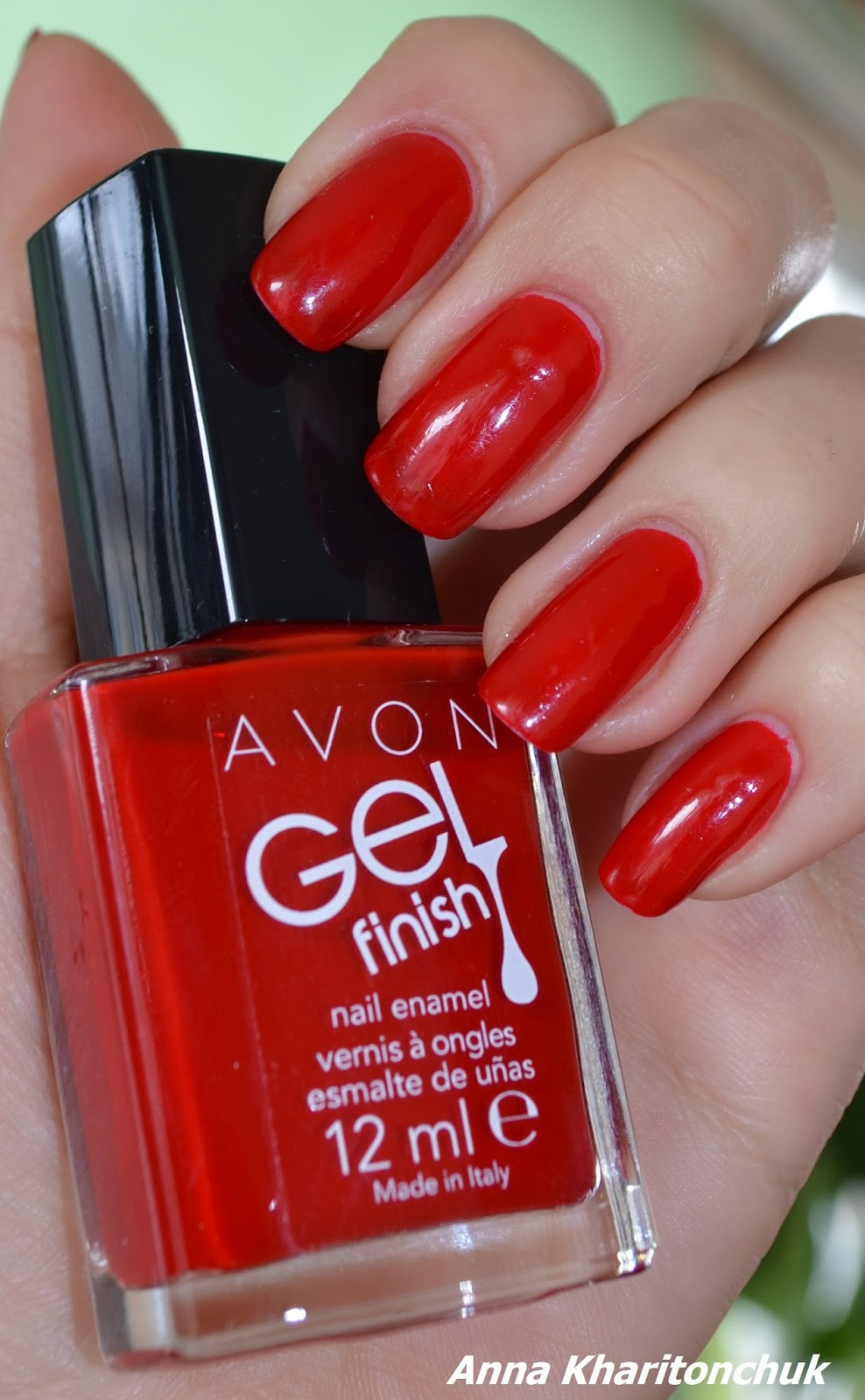 Avon Gel Finish Roses are Red