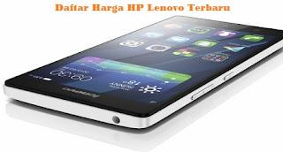 Daftar Harga HP Lenovo Terbaru 2015 Lengkap