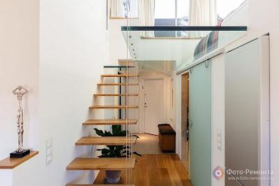Contoh Gambar Desain Tangga Rumah Modern