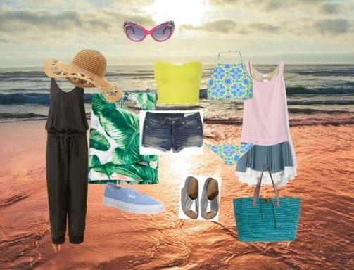 Que roupa levar para férias na praia, campo,  jumsuit, calções saias