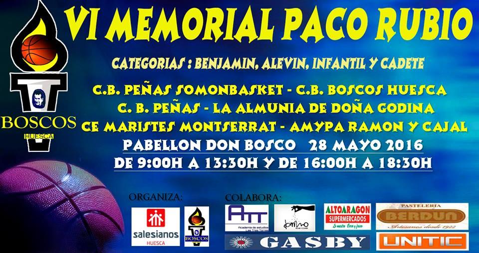 VI MEMORIAL PACO RUBIO