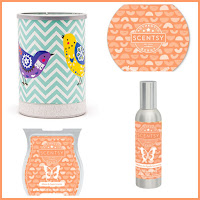 Scentsy February Warmer and Scent of the Month