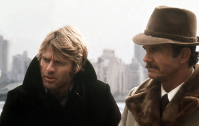 Robert Redford and Cliff Robertson in Three Days of the Condor