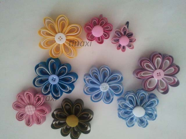 Creaciones Naxi: flores de tela