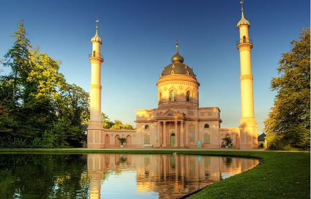 masjid schwetzingen 1 Keindahan Masjid Di Negri Non Muslim